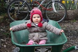 child in a wheelbarrow - Copy